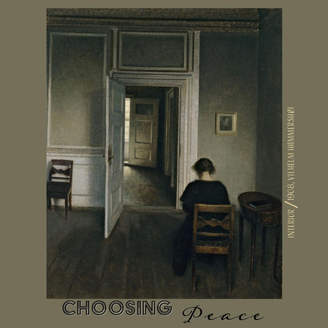 Choosing Peacer